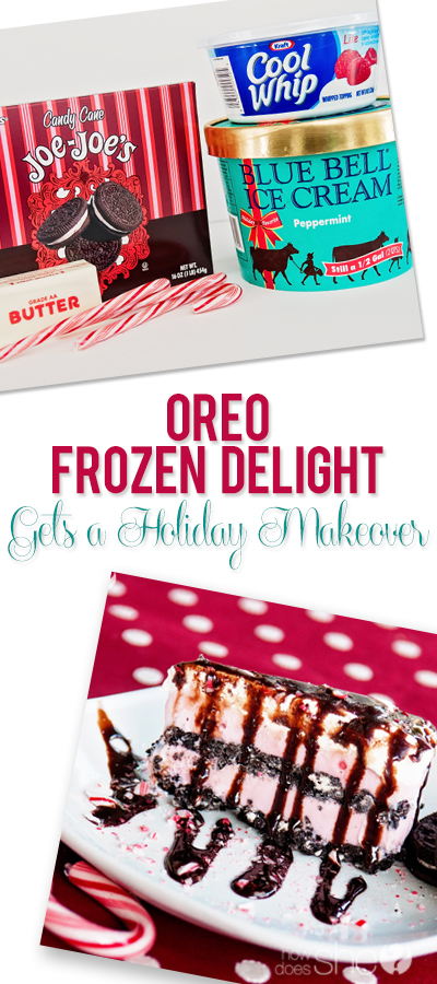 Oreo Frozen Delight Gets a Holiday Makeover