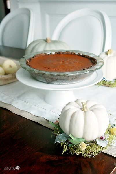 Healthy Pumpkin Pie: Gluten-free, Dairy-free, Sugar-free