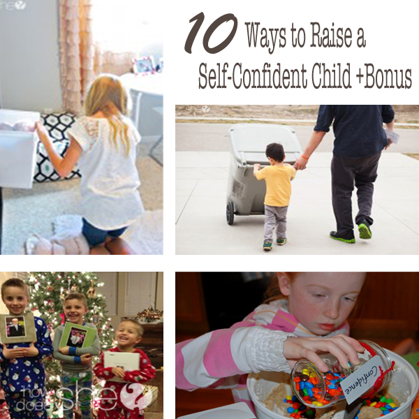 raise a self confident child collage