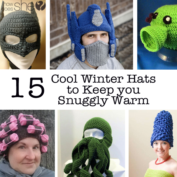 15 Cool Winter Hats to Keep You Snuggly Warm