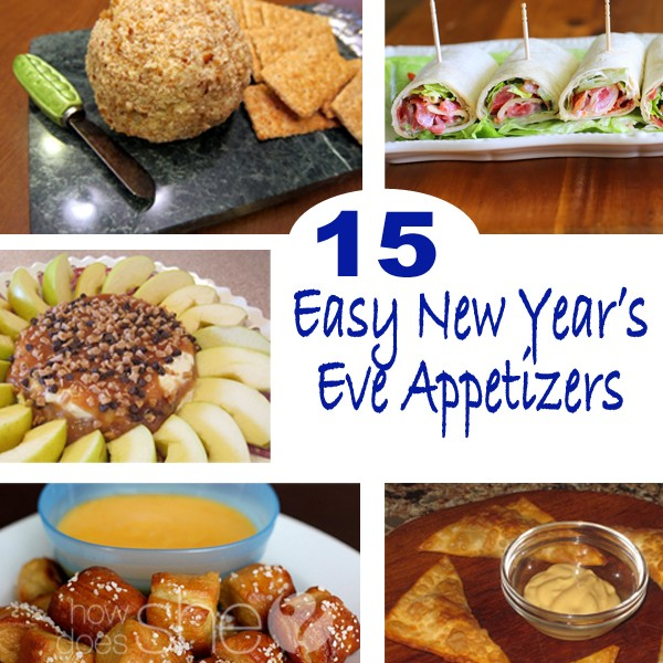 15 Easy New Year's Eve Appetizers