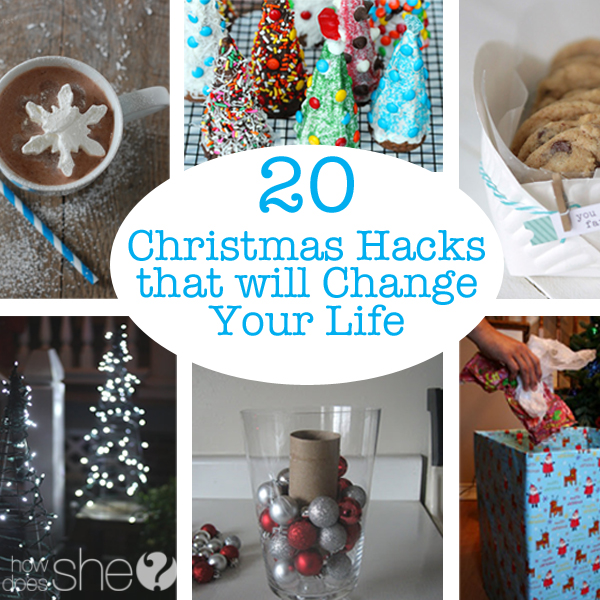 Christmas Life Hacks.20 Christmas Hacks That Will Change Your Life Love 18