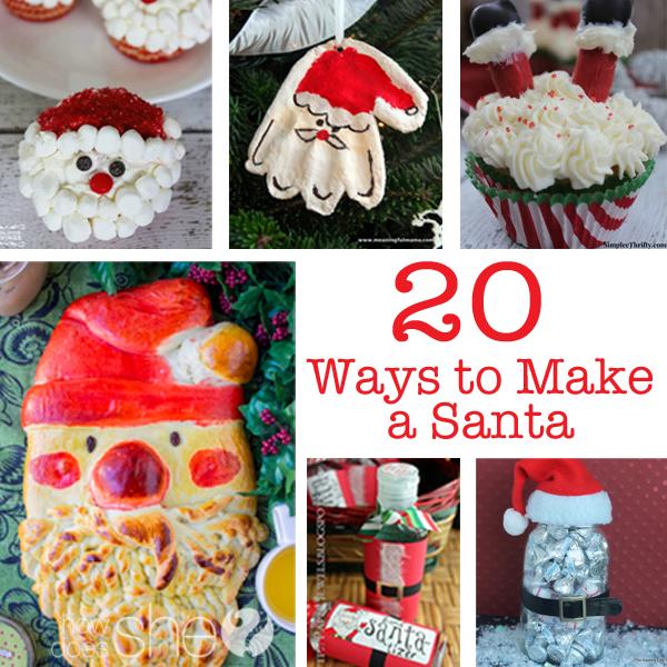 20 Ways to Make a Santa