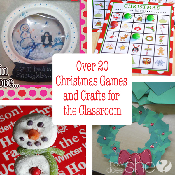 5th Grade Christmas Party Ideas Part - 30: Over 20 Christmas Games And Crafts For The Clasroom