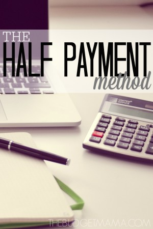 The-Half-Payment-Method