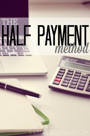 The-Half-Payment-Method