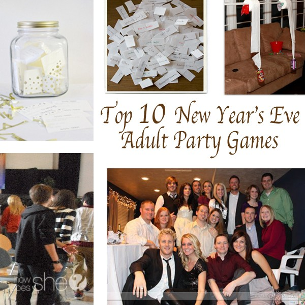 Top 10 New Year's Eve Adult Party Games