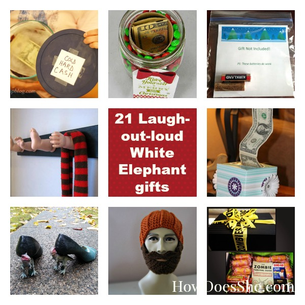 21 Laugh-Out-Loud White Elephant Gifts