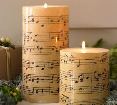 DIY tutorialDecorate candles with paper napkins How Does She