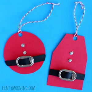 christmas-santa-gift-tags-using-soda-can-tabs