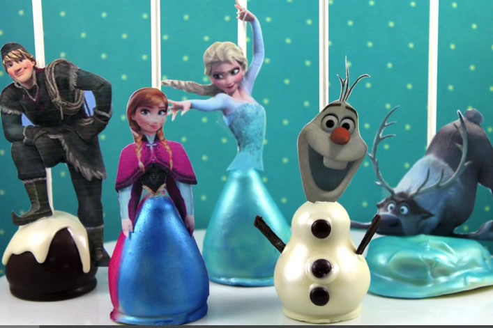 Frozen Characters Cake Images