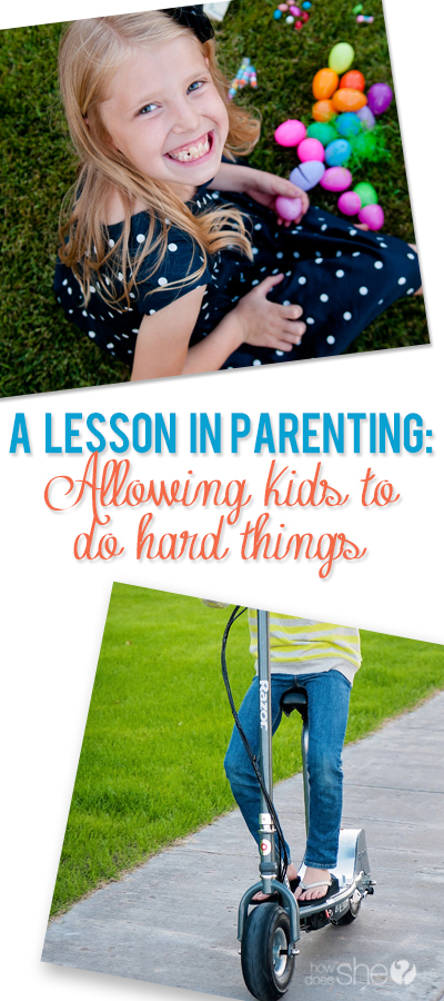 Teaching kids to do hard things