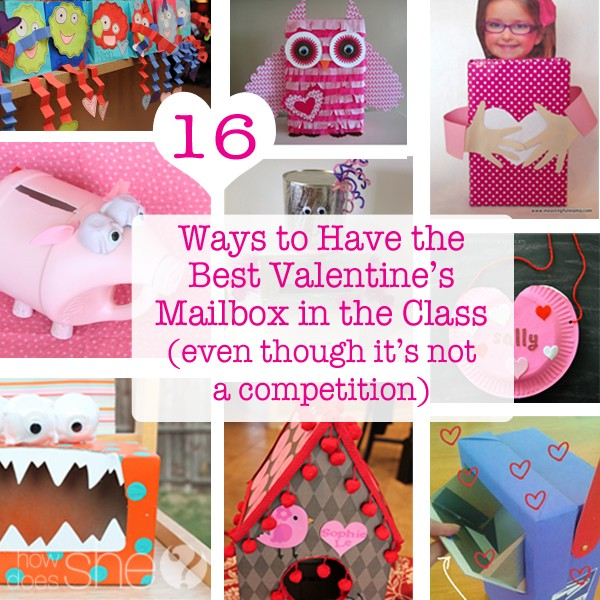 16 Ways to Have the Best Valentine's Mailbox Holder in the Class