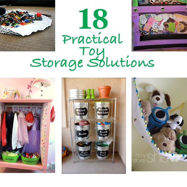 18 Practical Toy Storage Solutions