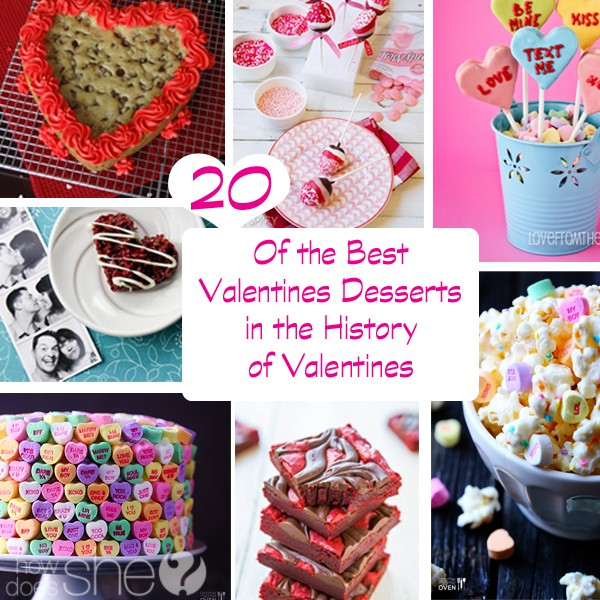 20 of the best Valentines Desserts in the history of Valentines