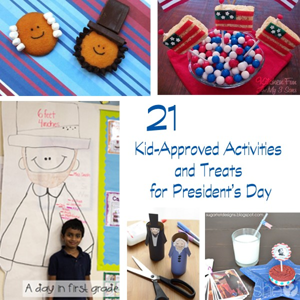 21 Kid-Approved Activities and Treats for President's Day