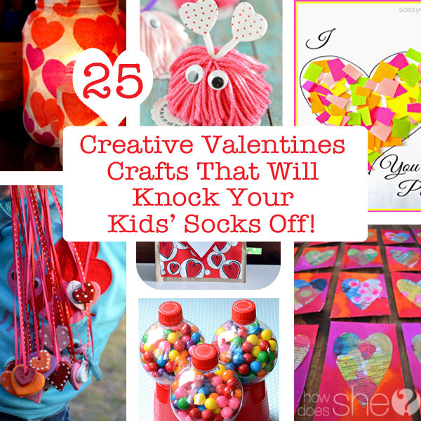 14 healthy valentine 39 s treats that will still leave you a for Fun crafts to do with your mom