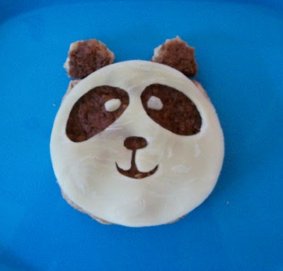 panda hamburger patty
