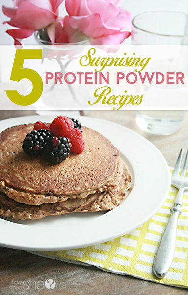 5 surprising protein powder recipes