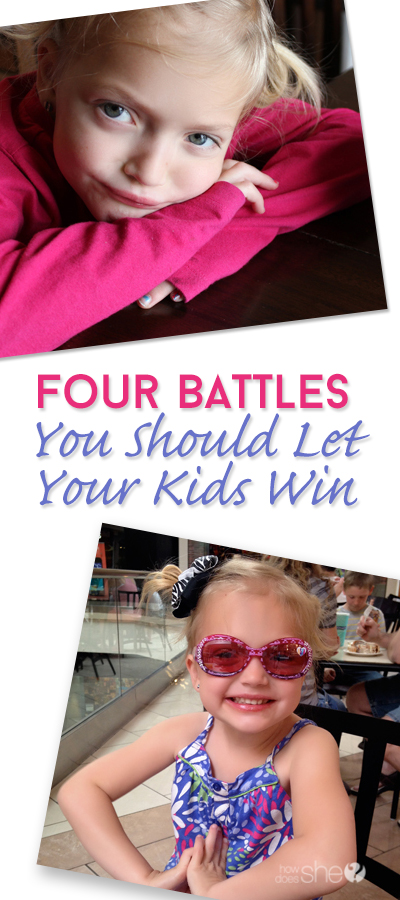 Four Battles You Should Let Your Kids Win pinterest image