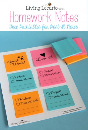 Free-Printable-Homework-Notes