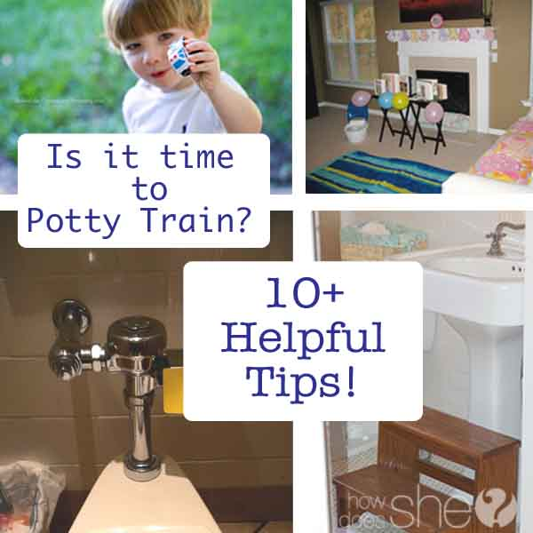 Is it time to Potty Train?  10+ Helpful Tips!