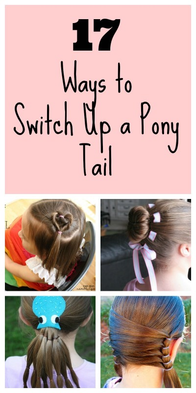 Pony tail Collage