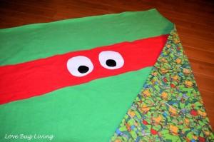 Ideal TMNT Blanket