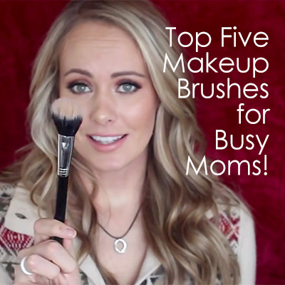 Top Five Makeup Brushes for Busy Moms