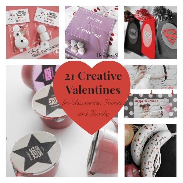 21 Creative Valentines Ideas for Classrooms, Friends, and Family
