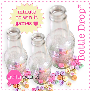 valentines minute to win it party ideas - Valentine Minute To Win It Games