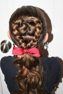 "15 ""Love""ly Hairdos That Could Make Your Little Valentine Get the Giggles"