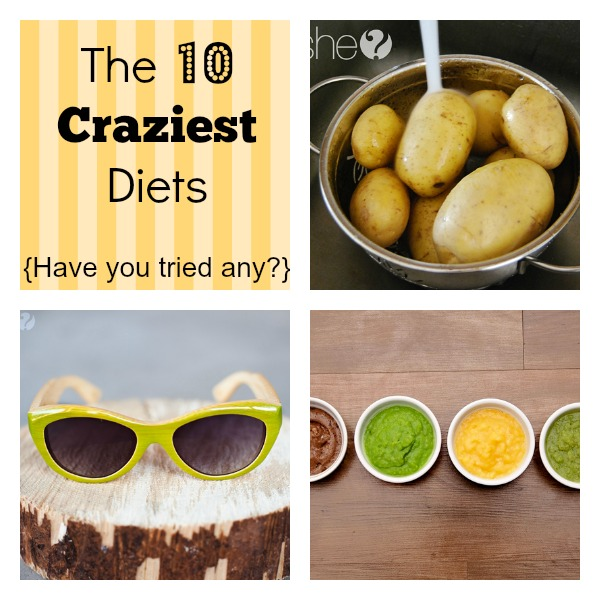 The 10 Craziest Diets…{have you tried any?}