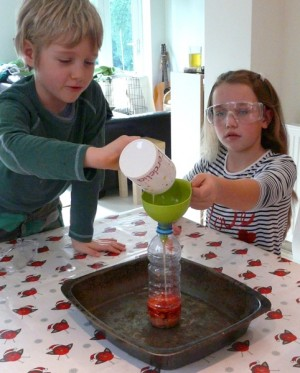 elephant-toothpaste-hydrogen-peroxide-and-yeast-homeschool-science1