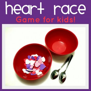 heart relay - Valentine Minute To Win It Games