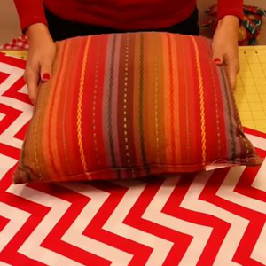 This No Sew Pillow Makeover Will Have You Updating Your Pillows In No Time!