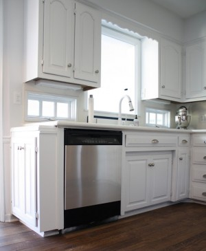 stainless dishwasher