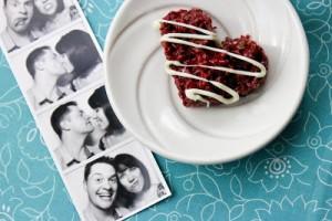 valentine rice krispie
