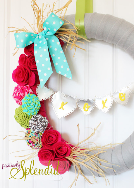 valentine wreath 2