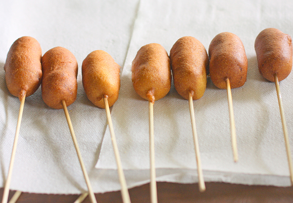 12. corn dog pops
