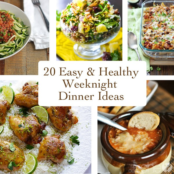 Healthy dinner ideas for a crowd 720p