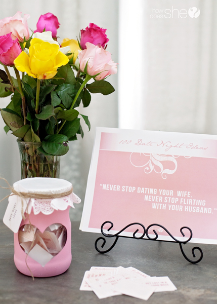 100 date night ideas for under $30 FREE Printables
