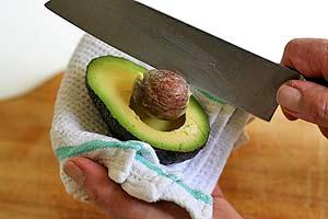 7. pit avocado