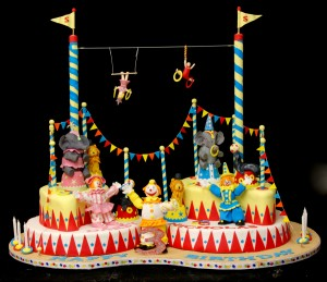 under the big top cake