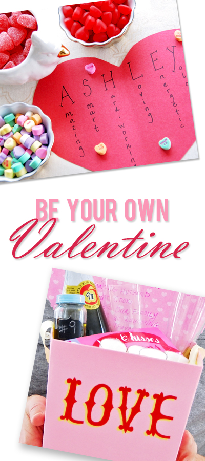 Ashley be your own valentine pinterest