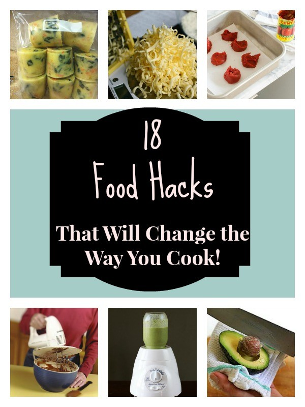 Food Hacks Collage