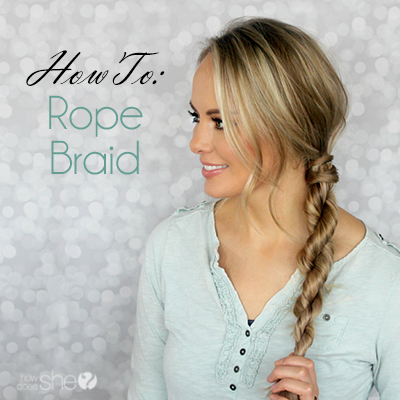 HOW TO: Rope Braid