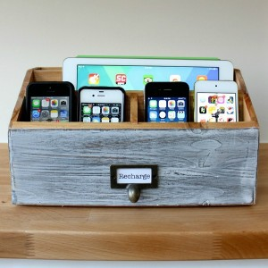 Letter-sorter-turned-into-a-family-charging-station