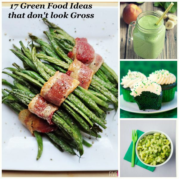 17 Green Food Ideas that don't look gross