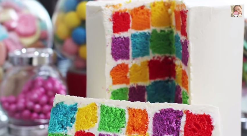 How To Make A Checkered Cake Board
